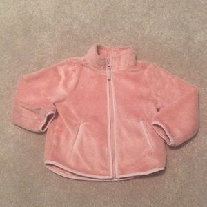 Toddler Girl Pink Cozy Sweater 2T